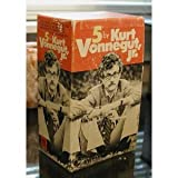 img - for 5 by Kurt Vonnegut jr. (5 volumes) (Cat's Cradle, The Sirens of Titan, God Bless You, Mr. Rosewater, Welcome To The Monkey House, Slaughterhouse Five) book / textbook / text book