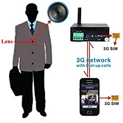 SPY HIDDEN 3G VIDEO BUTTON CAMERA