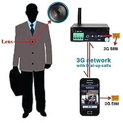 SPY HIDDEN 3G VIDEO BUTTON CAMERA