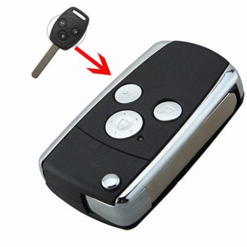 bacai-3-button-modified-flip-remote-key-shell-for-honda-crv-fit-accord-pilot-civic-replacement-foldi