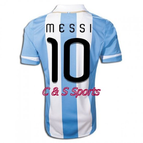Argentina 2011-12 Soccer Jersey Set  10 Messi Kids Youth Large Size for Age  11-13 Review cab9d40b6