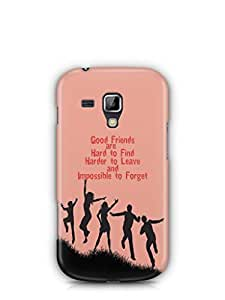 YuBingo Good Friends are Hard to Find Mobile Case Back Cover for Samsung Galaxy S Duos 2