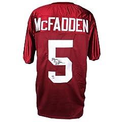 Darren McFadden Signed Arkansas Razorbacks Jersey - PSA DNA Certified - Autographed...