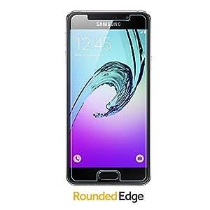 mk mayank enterprises Tempered Glass Screen Protector Guard for Samsung Galaxy A3 (2016)