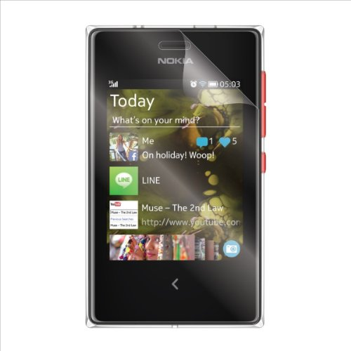 (2-Pack) StealthShields Screen Protector for Nokia Asha 503 (Ultra Clear)