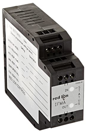 Red Lion IFMA Din Rail Frequency to Analog Converter