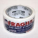 ダルトン パッキングテープ【FRAGILE 】配送員のイラスト 梱包テープ