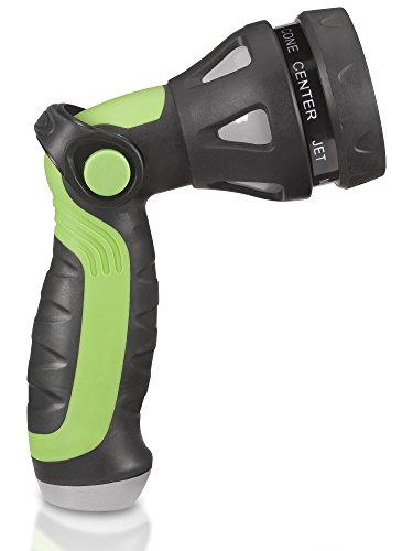 Trigger Free Metal Garden Hose Nozzle Heavy Duty Best Hose Sprayer For High Pressure No