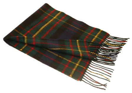 Lochcarron-MacLaren-Tartan-Lambswool-Scarf