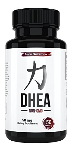 DHEA 50 mg Supplement To Support Balanced Hormone Levels For Men & Women, Promote Healthy DHEA Levels for Healthy Aging, Non-GMO Formula, Manufactured in the USA