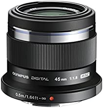 Comprar Olympus M.Zuiko digital - Objetivo para Micro Cuatro Tercios (distancia focal fija 45mm, apertura f/1.8-1,8, zoom óptico 1x,) color negro