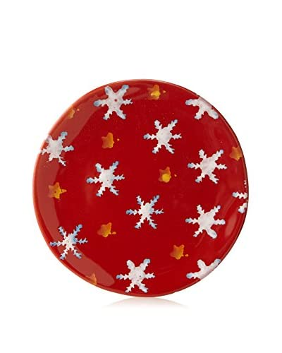 Modigliani Snowflake Appetizer Plate