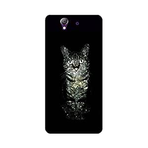Skintice Designer Back Cover with direct 3D sublimation printing for Sony Xperia Z