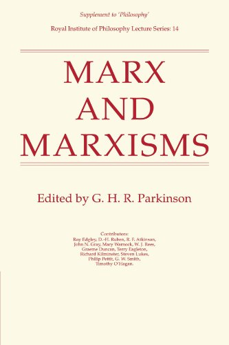 Marx And Marxisms (Royal Institute Of Philosophy Supplements)