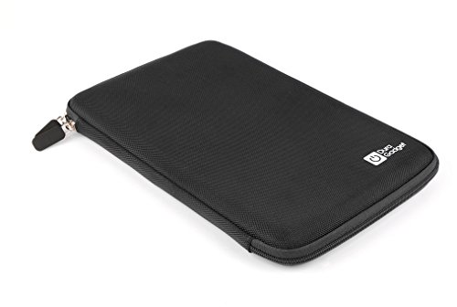 """Duragadget Stylish Shell Zip Case With Elasticated Inner Strap For Acer Iconia Tab A700 10.1"""" 32Gb Wifi Tegra 3 Quad Core, Android 4.0 (Ice Cream Sandwich) & Acer Iconia W700"""