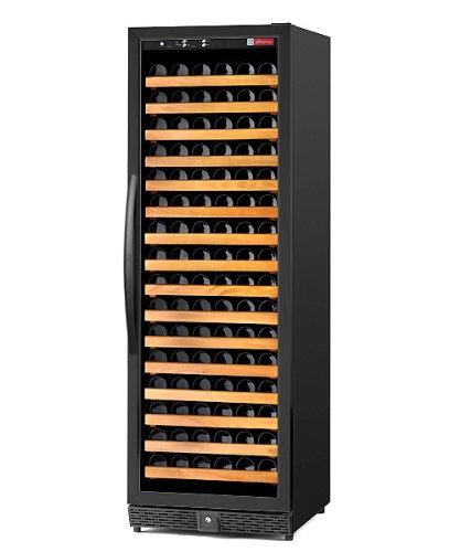 Allavino Mwr-1681-Bl-C Wine Cellar Refrigerator - 170 Bottle Capacity - Left Hinge Black Door