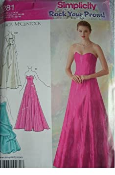 Designer Petite Dress Patterns For Women MISSES MISS PETITE EVENING