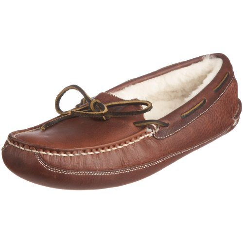 Chatham Marine Men's Reeve Red Brown Slipper D929 15 UK