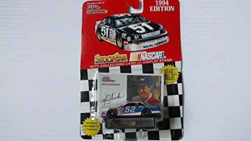 Racing champions 1/64 scale diecast stock car #2 Rusty Wallace with collectible card 1996 Edition