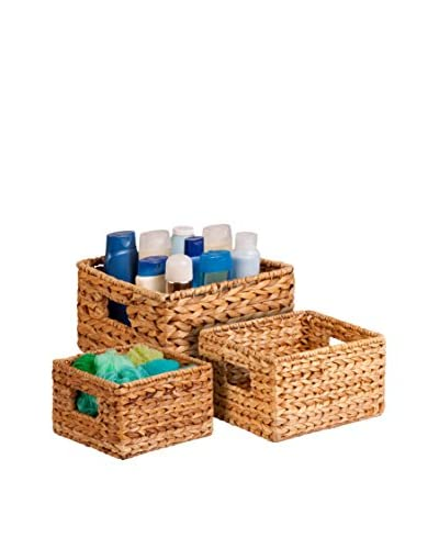 Honey-Can-Do Set of 3 Nesting Banana Leaf Baskets