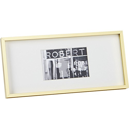 CB2 Gallery 4x6 Brass Picture Frame (Brass Gallery Tray compare prices)
