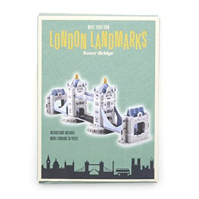 Tower Bridge Paper Kit