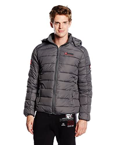 Geographical Norway Chaqueta Bellissimo Gris Oscuro