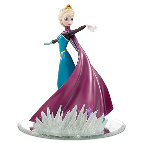 Elsa Coronation Day Dress Figurine with Swarovski Crystals
