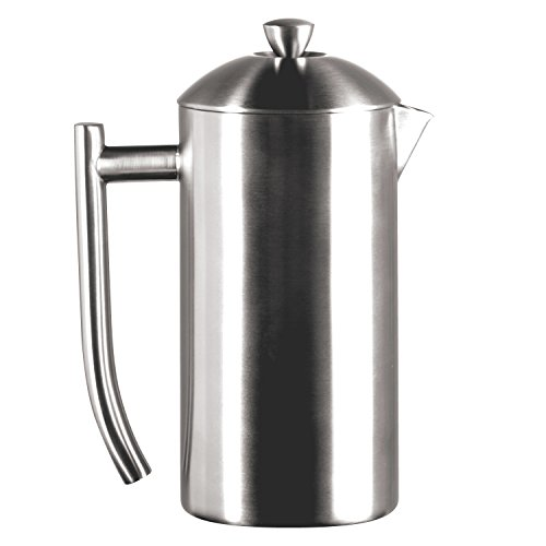 Frieling Insulated Coffee Maker French Press Brushed Stainless Steel : Frieling Brushed Stainless Steel French Press, 23-Ounce USD 79.95