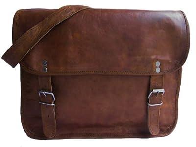 Gusti Genuine Leather Bag Shoulder Bag Handbag Satchel Vintage College Flapover Leisure Bag Unisex M2A
