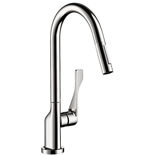 Hansgrohe 39835001 Axor Citterio Pull Out Spray Kitchen Faucet Chrome Hjgdsjgfkjd