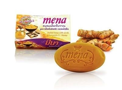 MENA Herbal Soap Curcumin Honey Anti-Aging Dark Spot Soap 100g/3.7oz