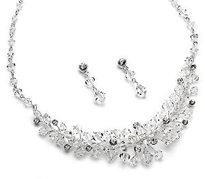 USABride Swarovski Crystal Necklace & Earrings 565