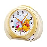 セイコークロック Disney (ディズニータイム) 目覚し時計 くまのプーさん FD397W