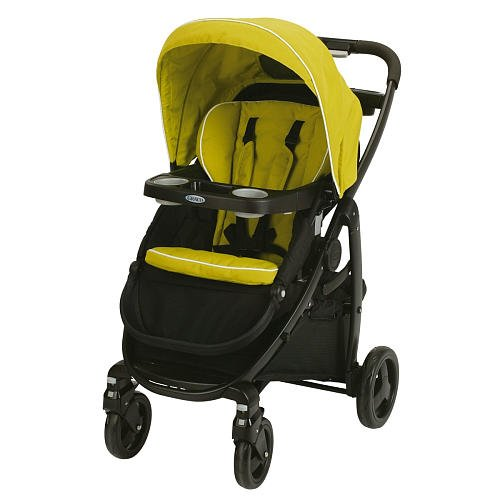 Graco Modes Click Connect Stroller Green Apple front-989452