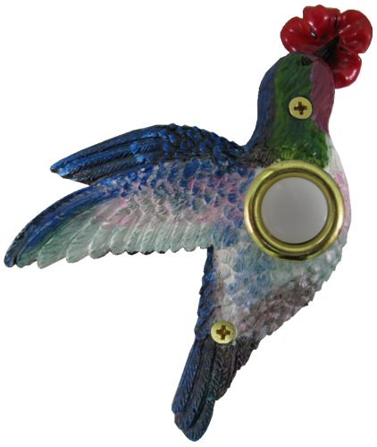 Company's Coming DBP-083 Hummingbird Painted Doorbell Cover