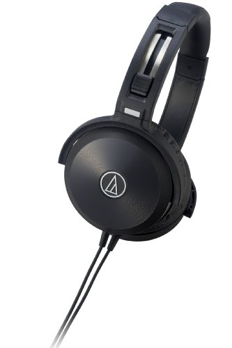 Audio Technica ATH-WS70 SOLID BASS Series | Portable Headphones (Japan Import) Black Friday & Cyber Monday 2014