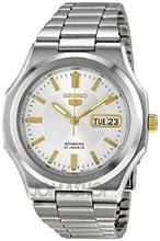 Comprar Seiko SNKK43 - Reloj analógico automático unisex con correa de acero inoxidable, color plateado