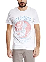 Wrangler Camiseta Manga Corta (Blanco)