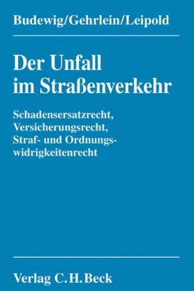 Bild 41khBEEpMqL zum Thema Buch: Der Unfall im Straenverkehr von Budewig, Gehrlein, Leipold.