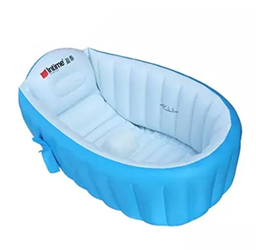 portable baby bath tub inflatable bathtub travel swimmer hot toddler bathing bathtubs seats. Black Bedroom Furniture Sets. Home Design Ideas