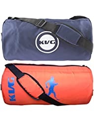 KVG Combo Gym Bag Pack Of 2 - B01LNV17WY