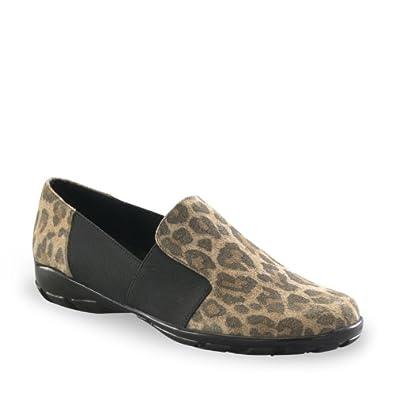 Vaneli Sport Women's Aleda Slip-On Shoes, Leopard, 6 M/B