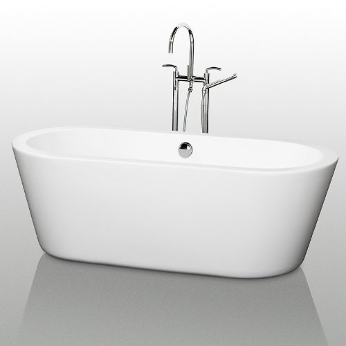 Sale!! Wyndham Collection WCOBT100367 Mermaid 67-in. Freestanding Tub