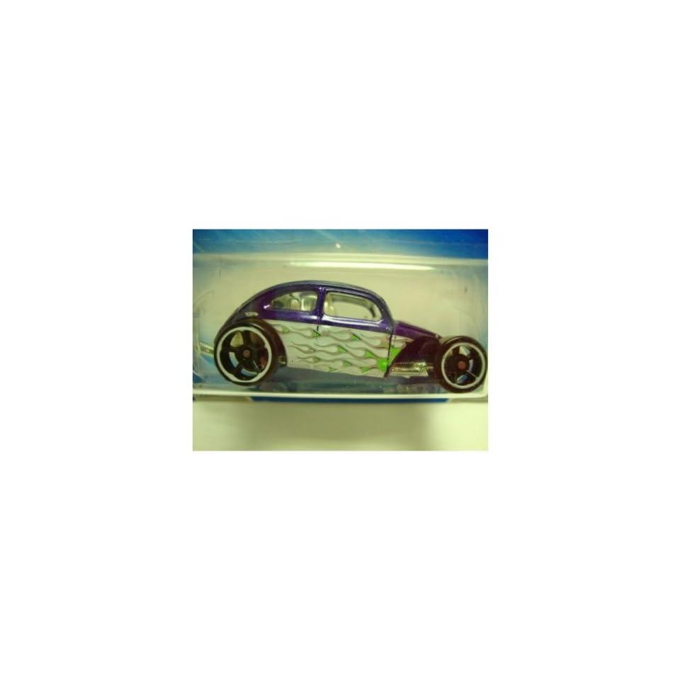 Hot Wheels Custom Volkswagen Beetle Purple #121 5/10 Heat Fleet (2009)