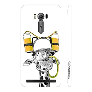 Enthopia Designer Hardshell Case Drunken Giraffe Back Cover for Asus Zenfone 2 Laser ZE500KL