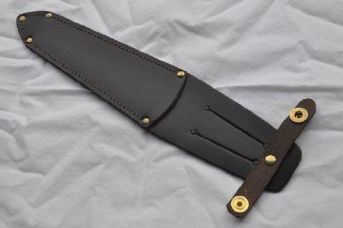 Genuine Commando/Stiletto Knife Belt Sheath Sheffield Fairbairn Sykes/J Nowell