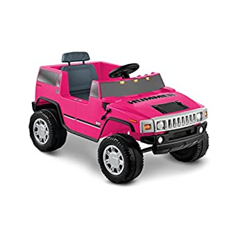 Battery Operated Ride On Toys >> National Products 6v Pink Hummer H2 Battery Operated Ride On