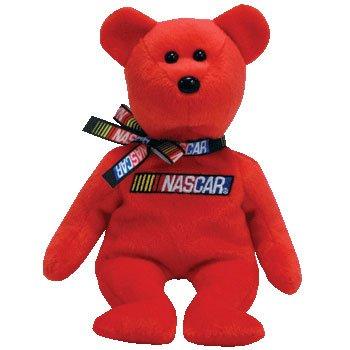 Ty NASCAR Racer - Bear Red