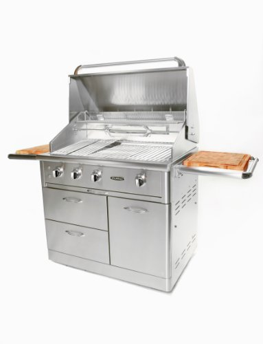 Capital Cooking Equipment Cg40Rfsn Precision Series Free Standing Stainless Steel Grill, 40-Inch